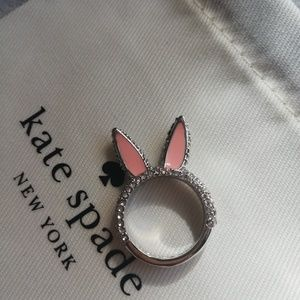 Kate spade make magic bunny ring 5
